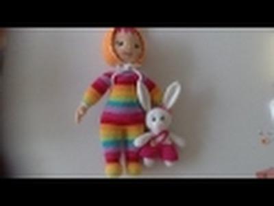 Muñeco de Daniela en amigurumi By Petus PRIMERA PARTE (1.2)