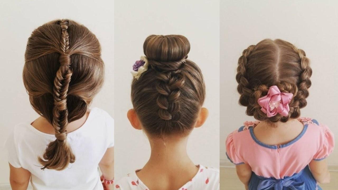 Peinados Para La Escuela Faciles Y Rapidos Para Niñas Ideas De Peinado