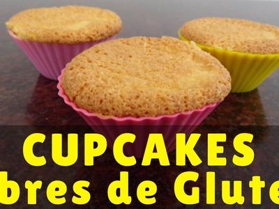 Receta - Cupcakes libres de gluten, aptos para celíacos