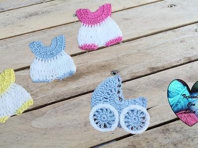 Souvenir tejidos a crochet 4 modelos parte 2.2