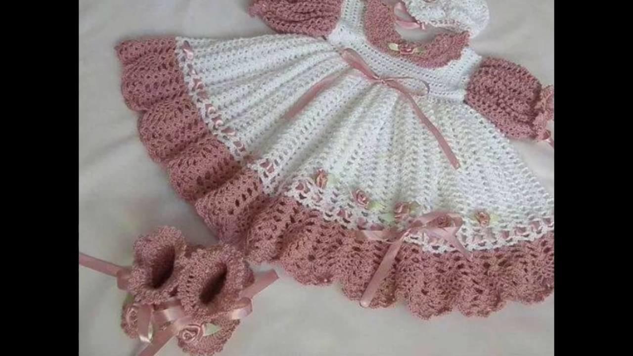 Vestidos Tejido Para Bebés