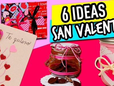 6 Regalos super fáciles para 14 de Febrero ❤ | Ideas San Valentin | Recopilación - Catwalk????