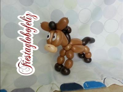 Como hacer a tiro al blanco el caballo de toy story