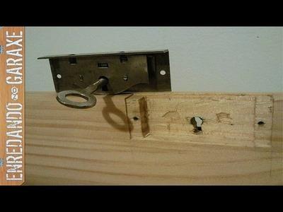 Cómo hacer un baúl de madera, P2  Tapa y cerradura