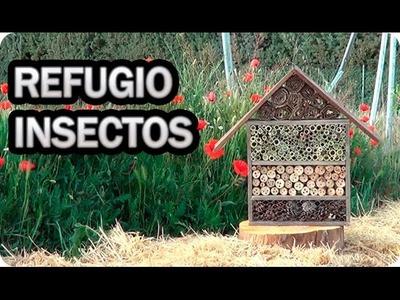 Como Hacer Y Porque Instalar Un Hotel De Insectos O Refugio En El Huerto || La Huertina De Toni