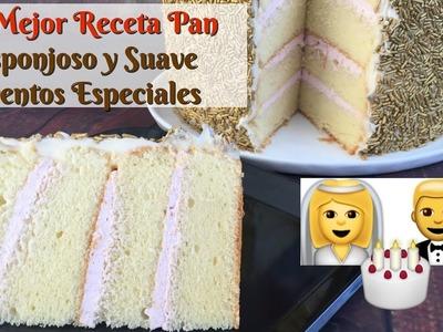 El Mejor Pan Suavecito y Esponjoso.Chiffon Sponge Cake