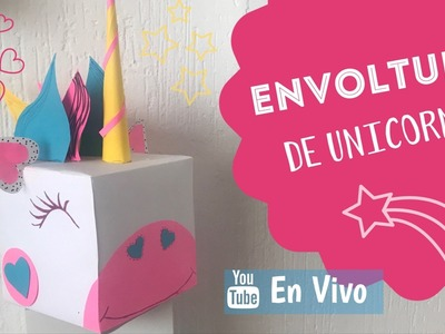 ⭕️  . EN VIVO Cajita de Regalo Unicornio ????  :: ChuladasCreativas