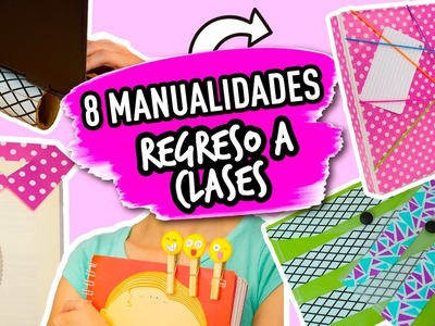 LAS 8 IDEAS MAS FÁCILES Y RÁPIDAS para REGRESO A CLASES | UTILES ESCOLARES | Catwalk