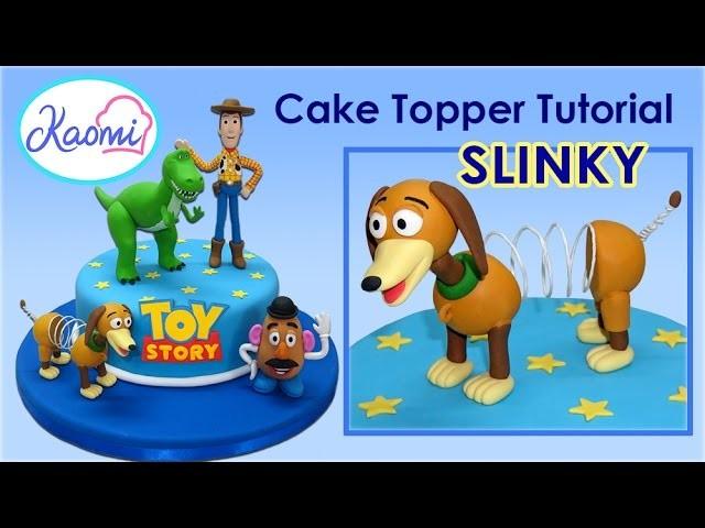 Toy Story (Cake Topper): Slinky. Cómo hacer a Slinky para tortas