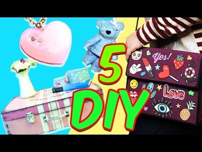 5 increibles Manualidades Faciles Paso a Paso simple compilation DIY
