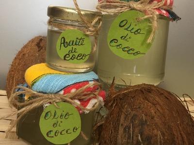 Cómo hacer aceite y manteca de coco en casa.