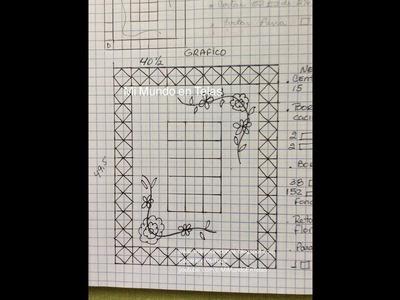 Como hacer el Gráfico de Patchwork! Pasos básicos que sigo antes de comenzar un proyecto!