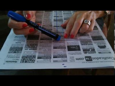 Cómo Hacer tu Propio Patrón Para Bolsos - Costura