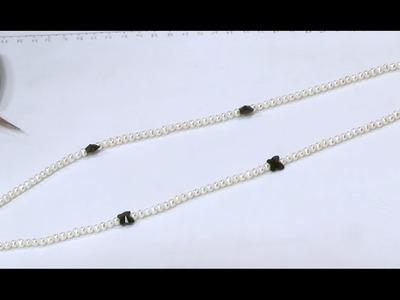 Como Hacer un Collar para Mujer de Perlas Cultivadas - Hogar Tv  por Juan Gonzalo Angel