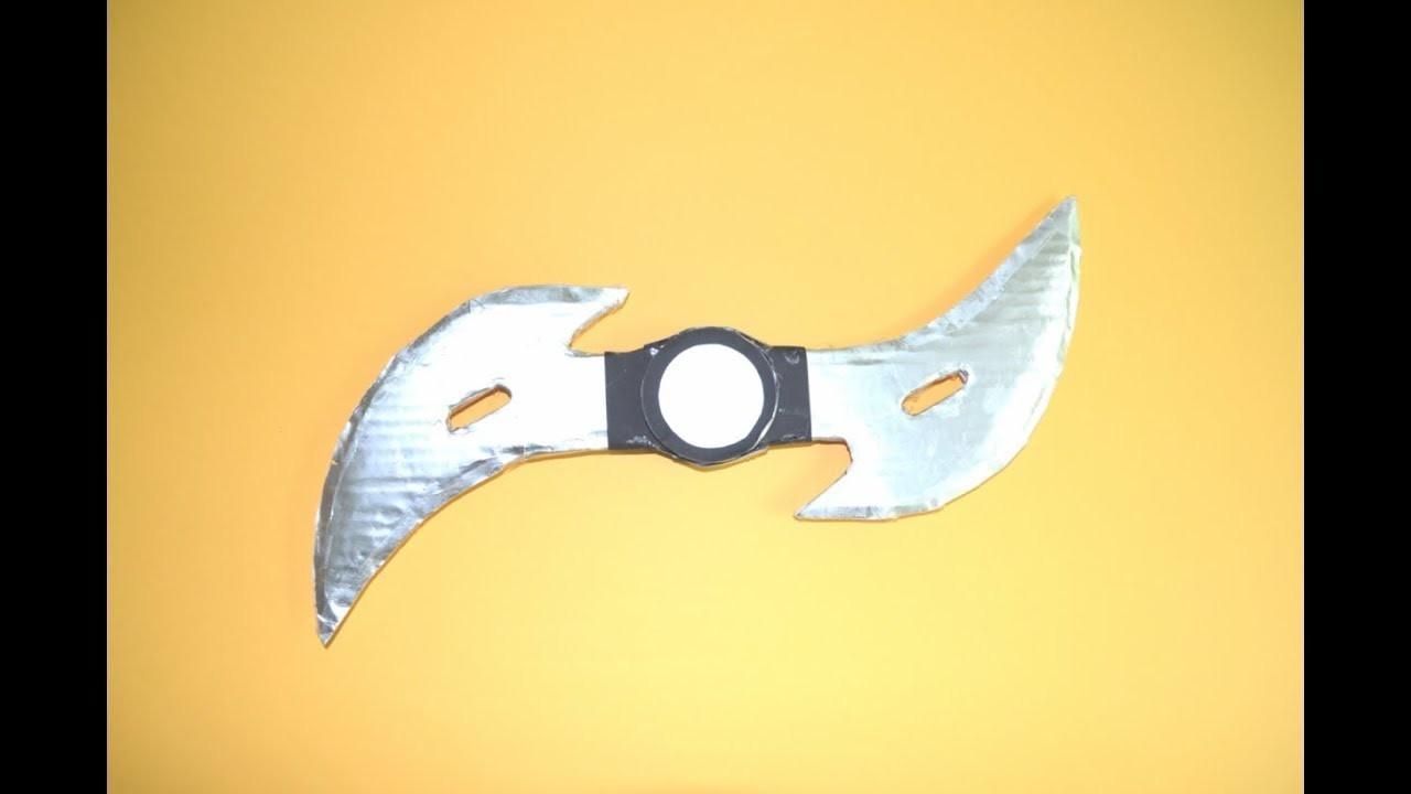 Como Hacer Un Cuchillo De Papel Cuchillo Vampiro