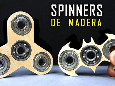 Cómo Hacer Un Spinner Casero Fácil (Con Palitos de Madera)
