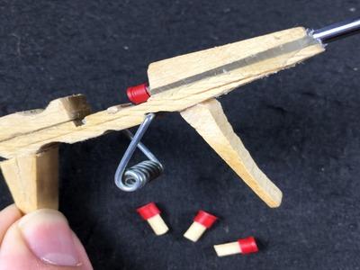 Cómo Hacer una PISTOLA AK-47 que DISPARA
