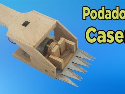 Cómo Hacer Una Podadora Eléctrica Casera  (Muy fácil de hacer)