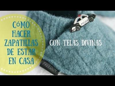Cómo hacer zapatillas para estar en casa, en español