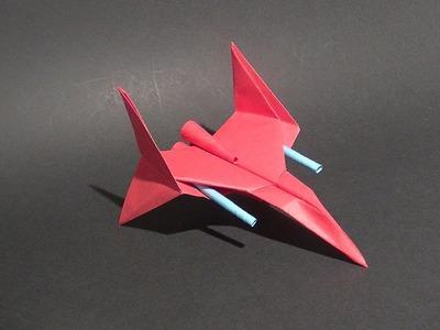 Como se hace una aeronave de combate  origami parecida a las de star wars