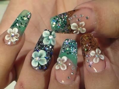 Diseño Otoño - Invierno -- Natos Nails - Uñas Acrilicas - Acrylic Nails