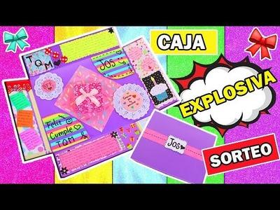 DIY Caja Explosiva. Regalo Original + Mega Sorteo Internacional - Ingenio KD