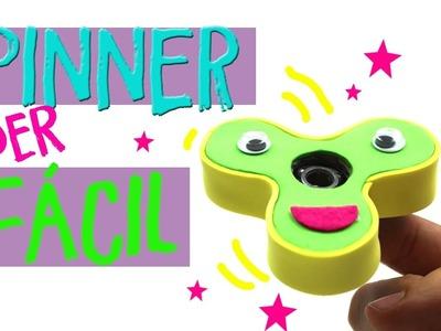 ¡¡spinner casero!! Tutorial Fácil de ¿Cómo hacer un Fidget Spinner?