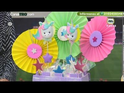 Movil de unicornios en Foami - Hecho con estilo