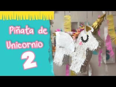 Piñata de Unicornio 2 :: Envoltura de regalo estilo Unicornio :: Chuladas Creativas