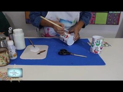 RECICLADO!!!!! Lindisimas latas recicladas para regalar!!  nos enseña Susana