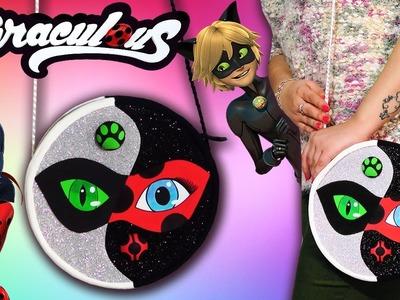 ???????? Tutorial: Bolsito Ladybug y Chat Noir inspirado en el dibujo de Luna Harker ????????