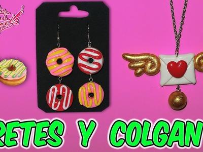 ♥ Tutorial: Pendientes.Aretes y Colgante para San Valentín || Valentine's Day ♥