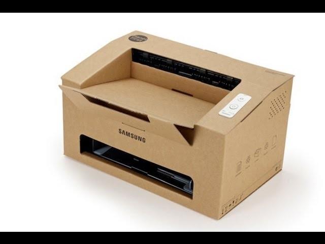Una impresora de cartón | Janting.cl
