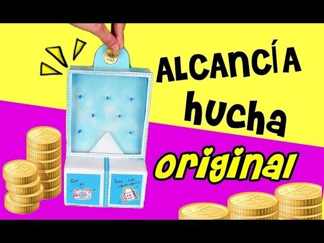 Alcancía Original Hucha Casera Manualidades Fáciles
