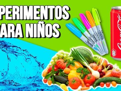 Best EXPERIMENTS for KIDS * EXPERIMENTOS fáciles para NIÑOS ✅  Top Tips & Tricks