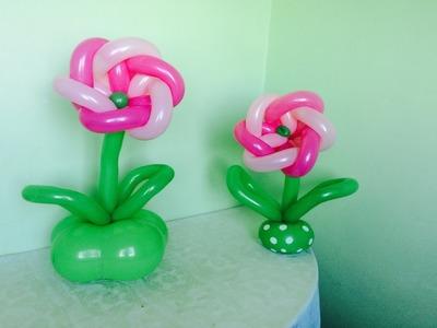 Como hacer una flor para centro de mesa # 14
