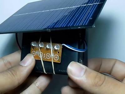 Como Hacer Una Lampara Solar . How to Make a Sunlamp