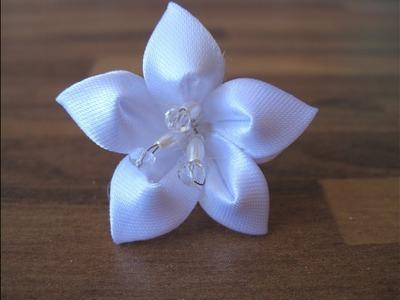 #DIY - #como hacer una flor azucena para una vincha, diadema, tocado, o complemento