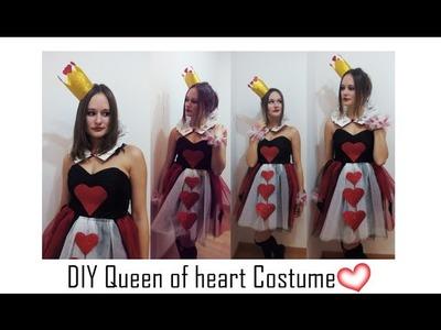 ????DIY- Disfraz reina de corazones fácil y original- Queen of heart costume |  Nerea Iglesias