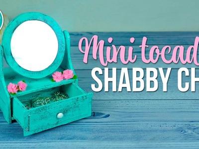 DIY Mini tocador con espejo giratorio - Shabby Chic | DREEN