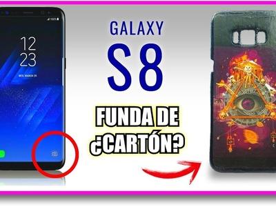 Funda de ¿CARTÓN? para Galaxy S8 | Pablo Inventos
