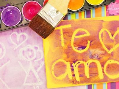 Haz una CARTA de AMOR ❤️ con Tinta INVISIBLE! (sin usar fuego)