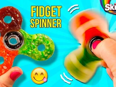 ¡¡FIDGET SPINNER Comestible!! * ???? Haz tu FIDGET SPINNER Casero con CARAMELOS SKITTLES ????