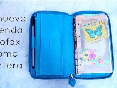 Mi nueva agenda Filofax como cartera | Julieta Jareda