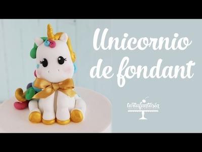Cómo hacer un Unicornio de Fondant