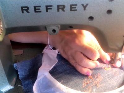 Como hacer una bolsita higienica