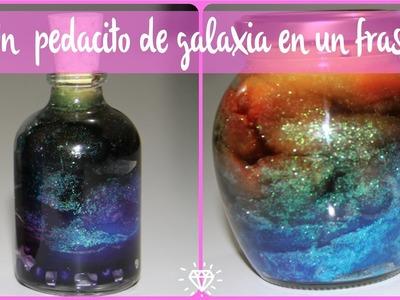 DIY : Galaxia en un frasco. galaxy ???? Sarish