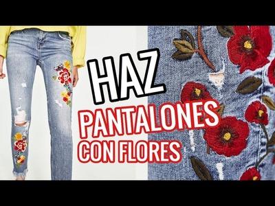 DIY - HAZ LOS PANTALONES DE MODA. cristinaneros