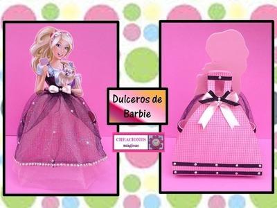 ♥♥Dulceros de barbie♥♥-♥♥CREACIONES mágicas♥♥