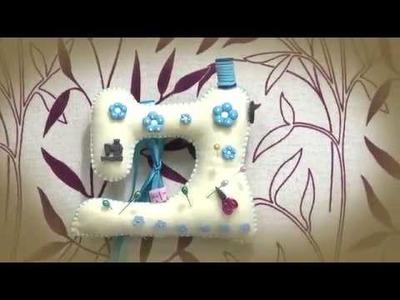 Máquina de coser alfiletero - Yasna Pino - Casa Puchinni